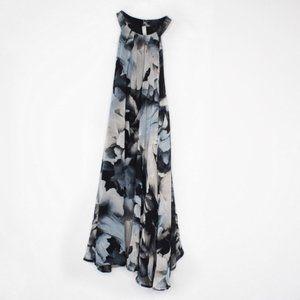 Astr the Label Halter Neck Floral Shift Dress M